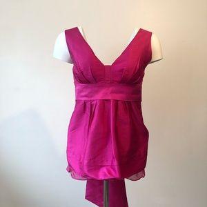 Diane von Furstenberg sleeveless silk blouse